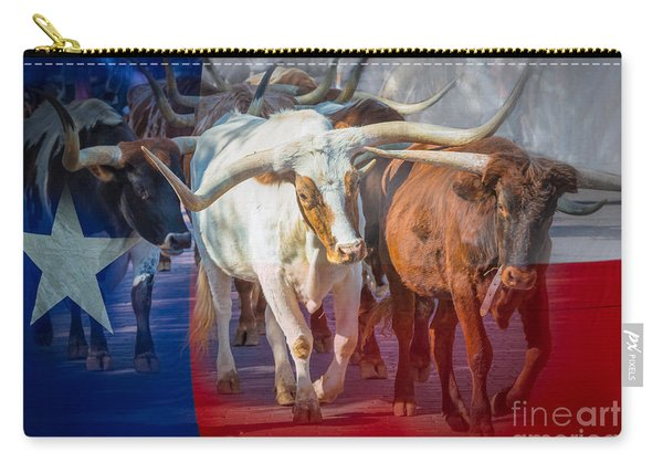 Texas Longhorns Carry-all Pouch