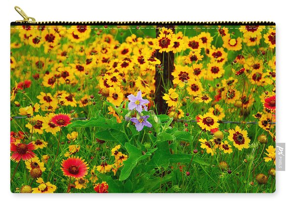 Texas Spring Delight Carry-all Pouch