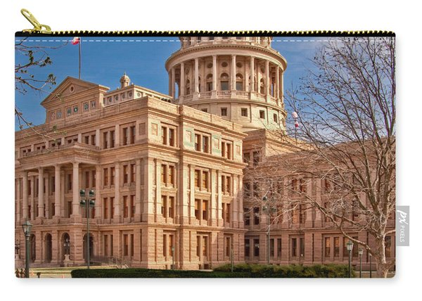 Texas State Capitol Building Carry-all Pouch