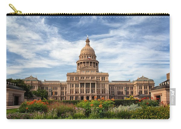 Texas State Capitol II Carry-all Pouch