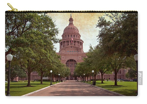 Texas State Capitol IIi Carry-all Pouch