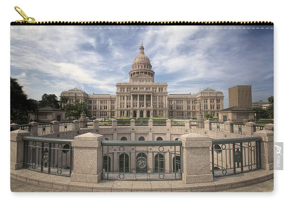Texas State Capitol Iv Carry-all Pouch