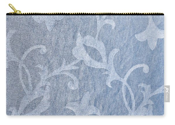 Textile Background Carry-all Pouch