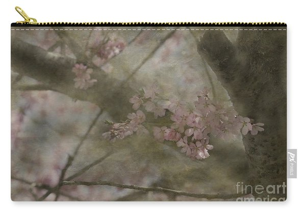 Textures Of Spring Carry-all Pouch