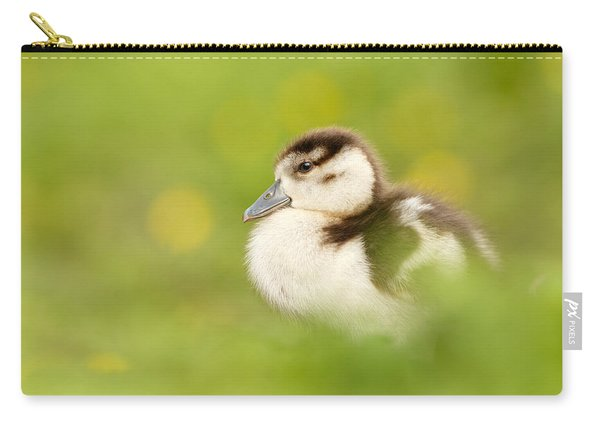The Gosling In The Grass Carry-all Pouch