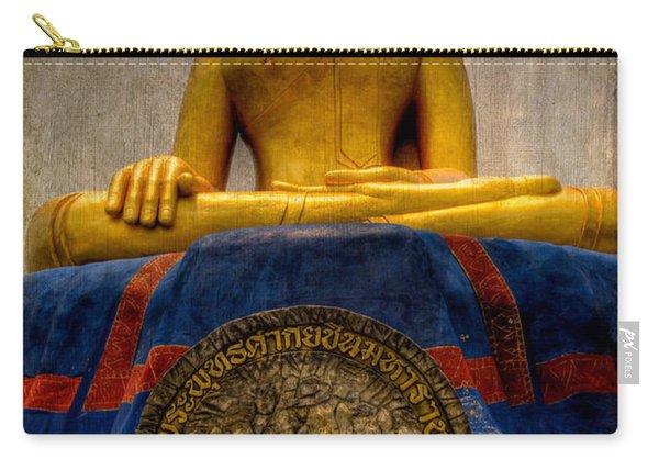 Thai Golden Buddha Carry-all Pouch