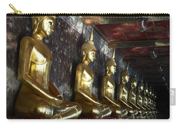 Thailand, Bangkok, Wat Suthat Buddhist Carry-all Pouch