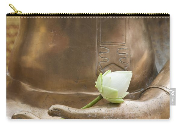 Thailand, Chiang Mai, Buddhist Temple Carry-all Pouch