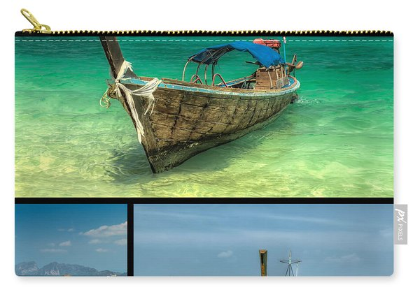Thailand Longboats Carry-all Pouch