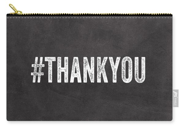 Thank You- Greeting Card Carry-all Pouch