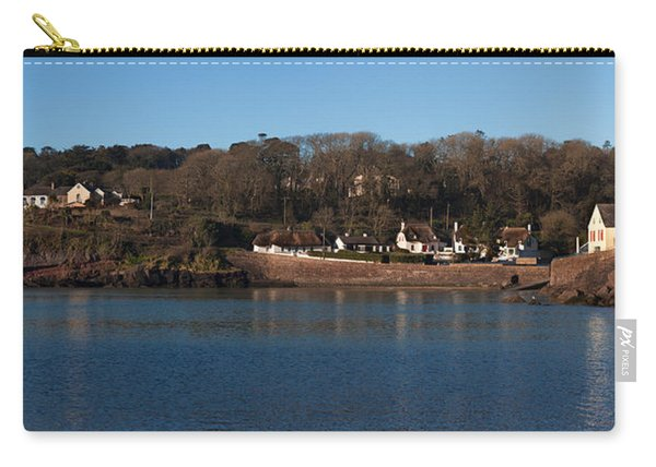 Thatched Cottages In A Town, Dunmore Carry-all Pouch