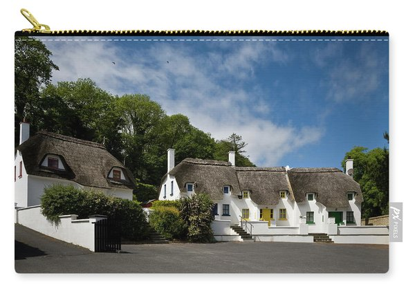 Thatched Cottages Near Dunmore Carry-all Pouch