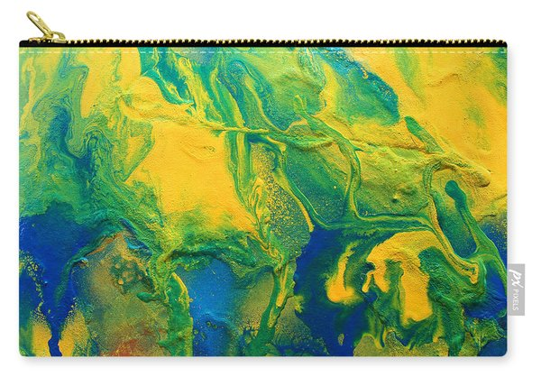 The Abstract Earth Carry-all Pouch