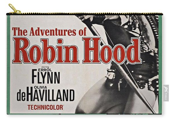 The Adventures Of Robin Hood B Carry-all Pouch