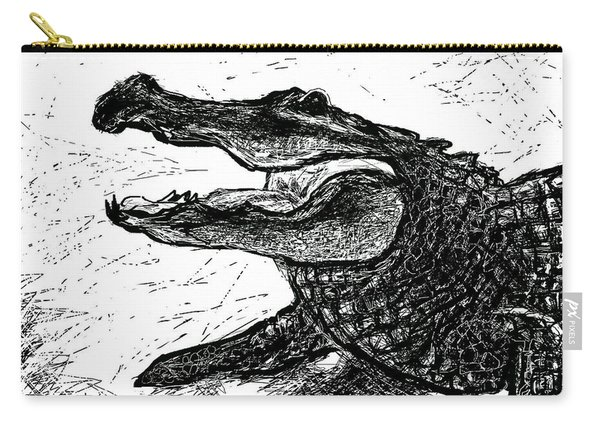 The Alligator Carry-all Pouch