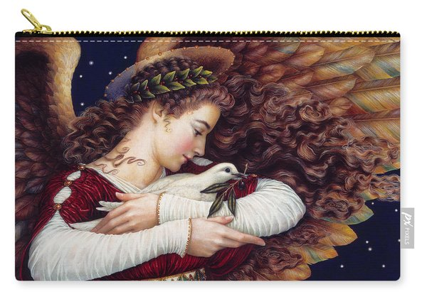 The Angel And The Dove Carry-all Pouch
