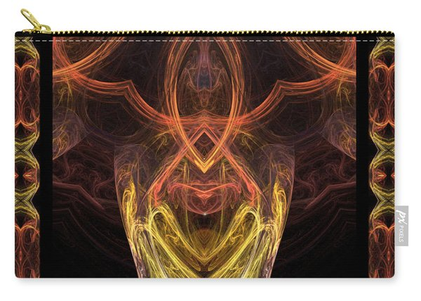 The Angel Of Meditation Carry-all Pouch