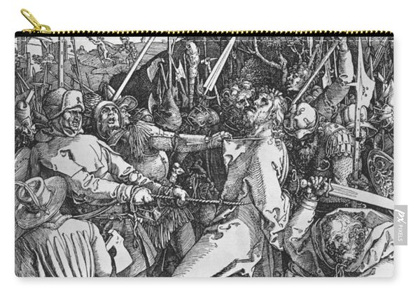 The Arrest Of Jesus Christ Carry-all Pouch