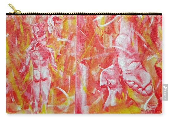The Art Of Sculptures Carry-all Pouch