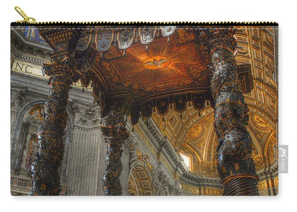 The Baldaccino Of Bernini Carry-all Pouch