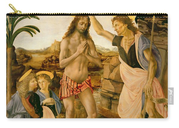 The Baptism Of Christ By John The Baptist Carry-all Pouch