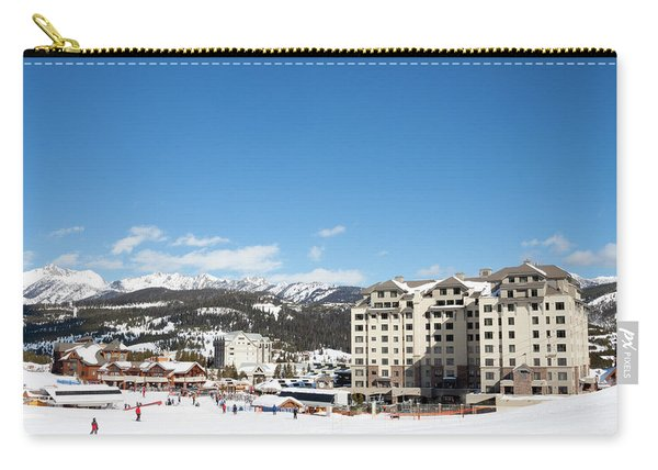 The Base Area At Big Sky Resort Carry-all Pouch