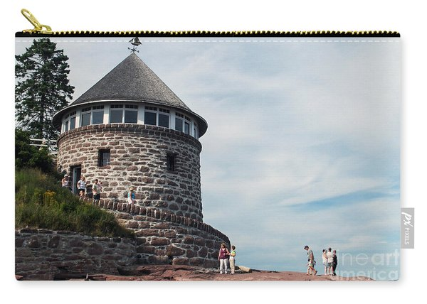 The Bath House On Ministers Island Nb Carry-all Pouch