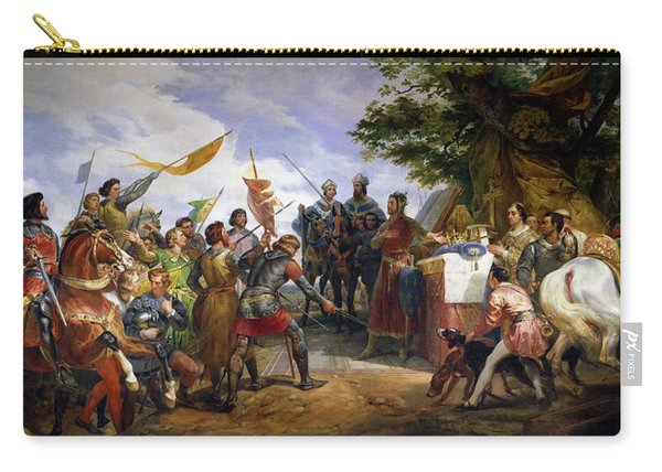 The Battle Of Bouvines Carry-all Pouch