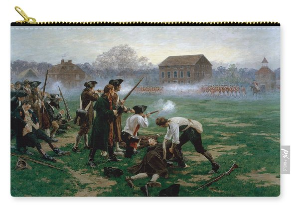 The Battle Of Lexington, 19th April 1775 Carry-all Pouch