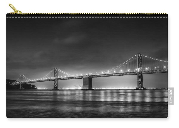 The Bay Bridge Monochrome Carry-all Pouch