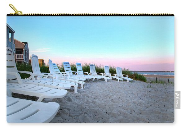 The Beach Chairs Carry-all Pouch