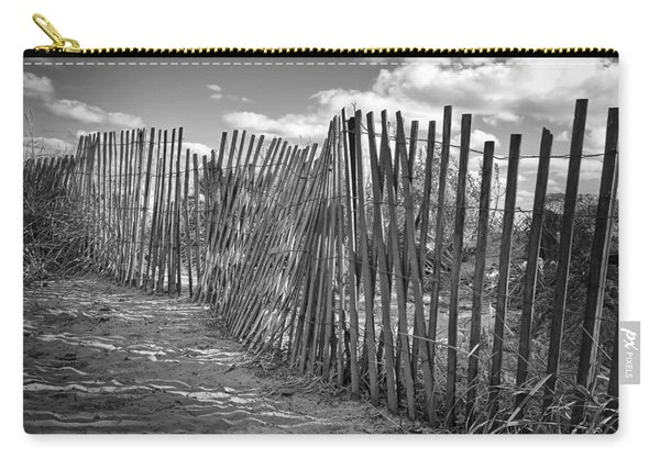 The Beach Fence Carry-all Pouch