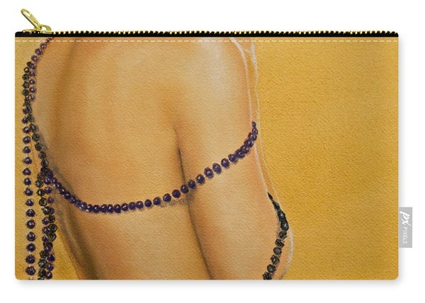 The Beaded Shawl Carry-all Pouch