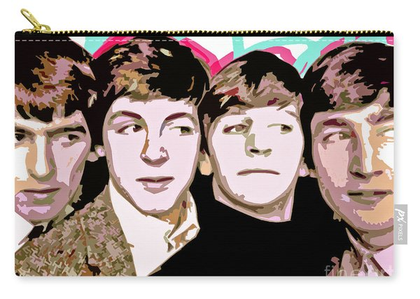 The Beatles Love Carry-all Pouch