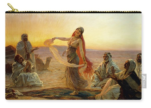 The Bedouin Dancer Carry-all Pouch