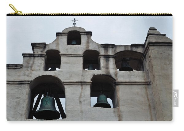 The Bells Of Mission San Gabriel Arcangel Carry-all Pouch