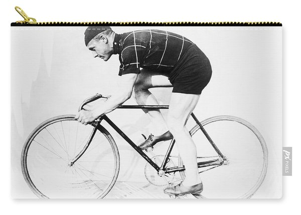 The Bicyclist - 1914 Carry-all Pouch