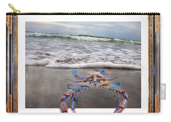 The Blue Crab Carry-all Pouch