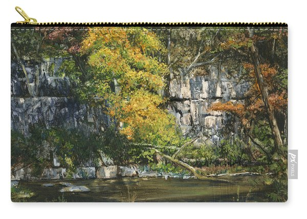The Bluffs River Trail Carry-all Pouch