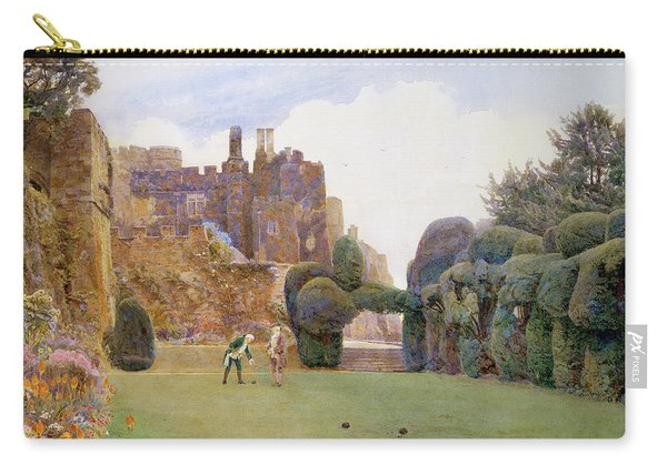 The Bowling Green, Berkeley Castle Carry-all Pouch