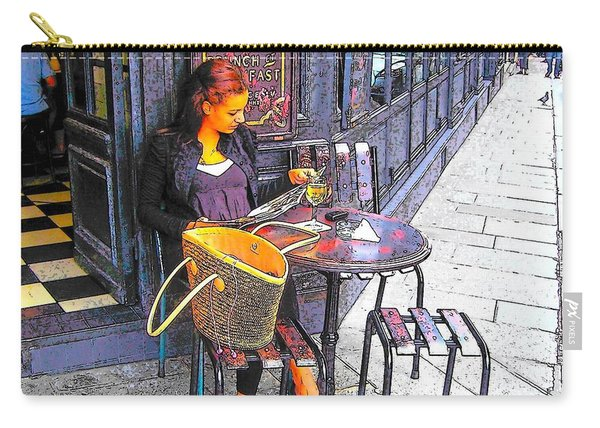 The Brasserie In Paris Carry-all Pouch