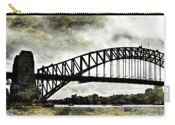 The Bridge Spattled Carry-all Pouch