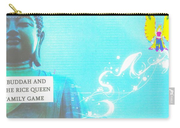 The Buddah And Rice Queen Game Carry-all Pouch