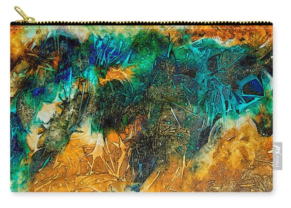 The Bull By Sharon Cummings Carry-all Pouch