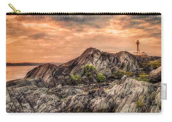 Carry-all Pouch featuring the photograph The Calm Before The Storm by Garvin Hunter