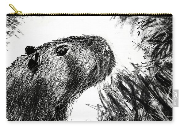 The Capybara  Carry-all Pouch