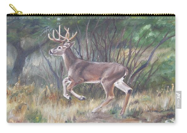 The Chase Is On Carry-all Pouch