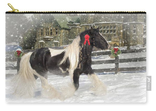 The Christmas Pony Carry-all Pouch