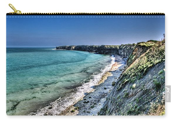 The Cliffs Of Pointe Du Hoc Carry-all Pouch