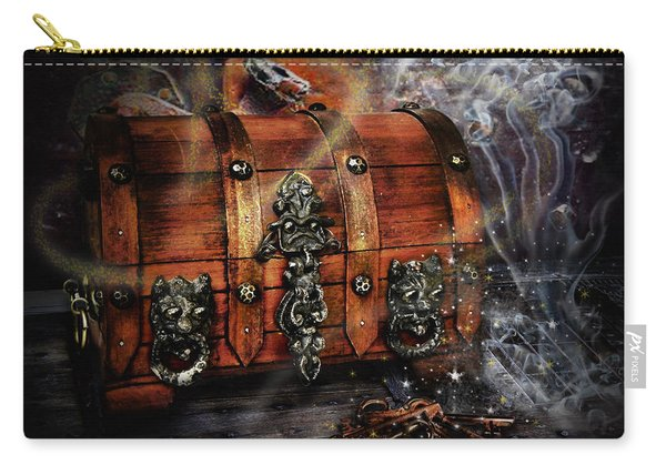 The Coffer Of Spells Carry-all Pouch